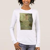 faery, fantasy, butterfly, digital, art, birds, wings, forest, woods, river, magic, Camiseta com design gráfico personalizado
