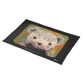 'Lost Teddy' American MoJo Placemat