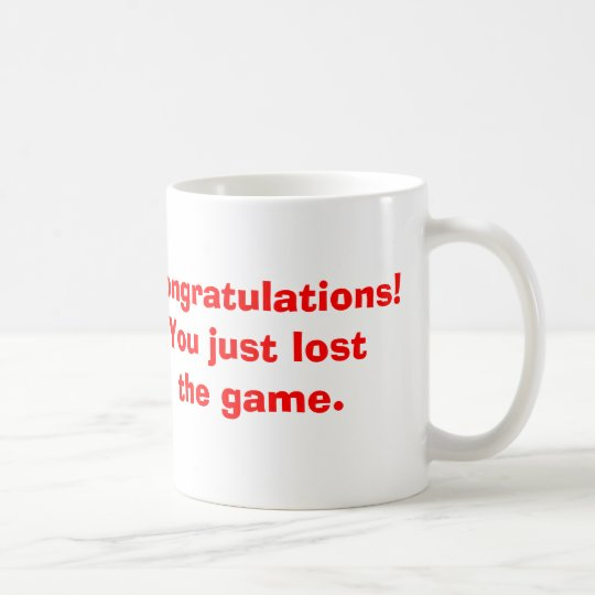 Lost the Game Coffee Mug