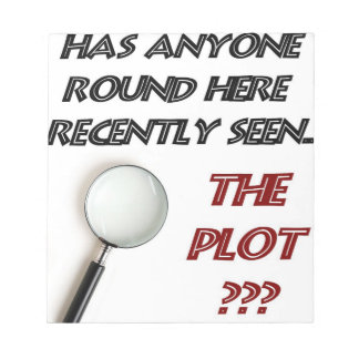 Lost the Plot scratch pad