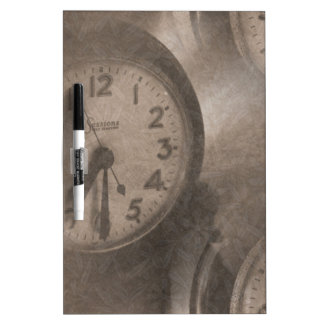 Lost Time Dry-Erase Board