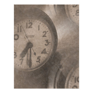 Lost Time Letterhead