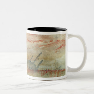 Lost to All Hope The Brig, c.1845-50 (w/c & graphi Two-Tone Coffee Mug