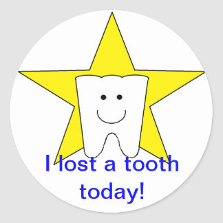 Lost Tooth Stickers