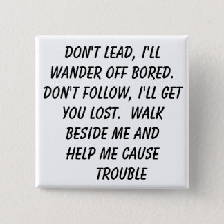 Lost, trouble button
