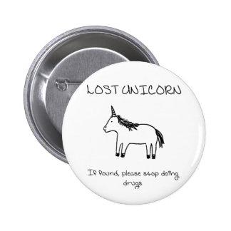 Lost Unicorn Button