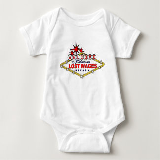 Lost Wages NEVADA Baby Bodysuit