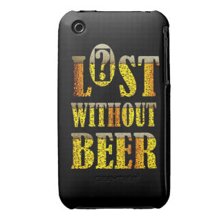 Lost without Beer IPhone Case