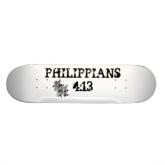 LOST WITHOUT CHRIST PHIL 4:13 SCATEBOARD SKATEBOARD