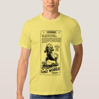 Lost World 1925 Arthur Conan Doyle novel Shirt