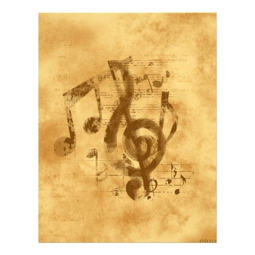 Lost World Music Custom Letterhead