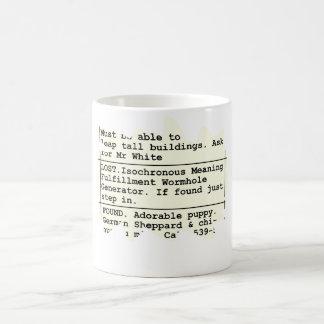Lost Wormhole Mugs