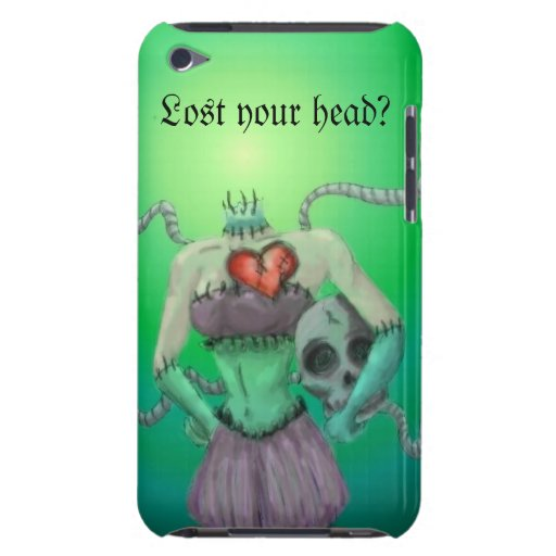 Lost your head? iPod touch cover