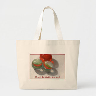 LOST YOUR MARBLES JUMBO TOTE BAG