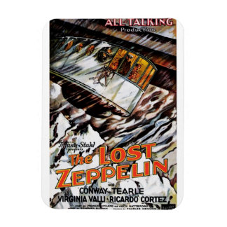 Lost Zeppelin Magnet