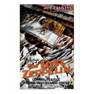 Lost Zeppelin Postcard