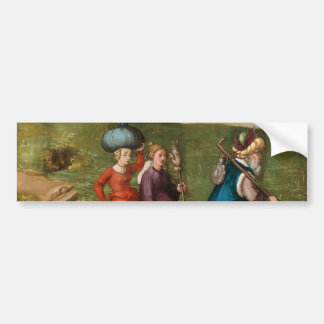 Lot and His Daughters by Albrecht Durer Bumper Sticker