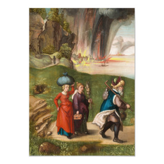 Lot and His Daughters by Albrecht Durer Card