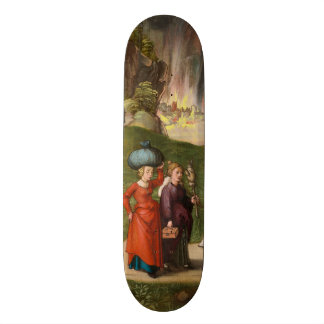 Lot and His Daughters by Albrecht Durer Skateboard