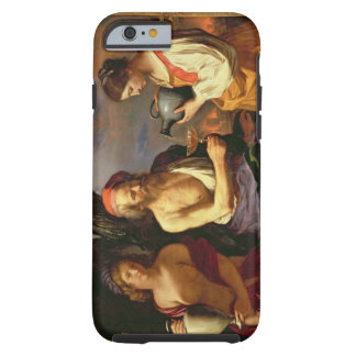 Lot and his Daughters (oil on canvas) 2 Tough iPhone 6 Case
