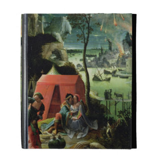 Lot and his Daughters (oil on panel) iPad Folio Covers