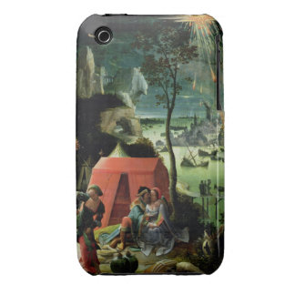 Lot and his Daughters (oil on panel) iPhone 3 Case-Mate Case