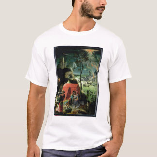 Lot and his Daughters (oil on panel) T-Shirt