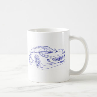 Lot Elise 2nd gen sketch Coffee Mug