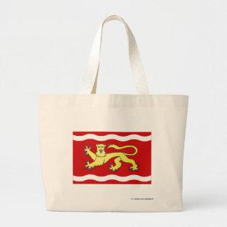 Lot-et-Garonne flag Canvas Bags