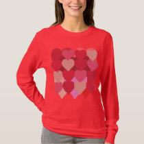 Lot o' Hearts Long-Sleeve T-Shirt