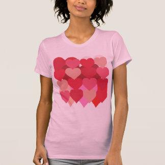 Lot o' Hearts Tee Shirts