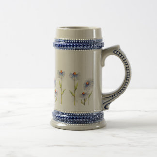 LOT of DAISIES by SHARON SHARPE 18 Oz Beer Stein
