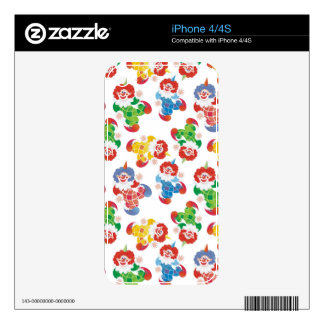 lot of funny clowns skins for the iPhone 4S