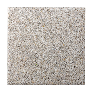 Lot of grey gravel stones as background ceramic tile