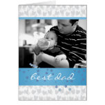lot of hearts for best dad ever greeting cards