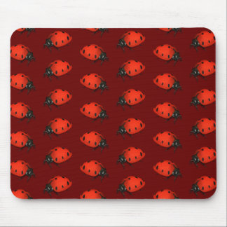 Lot Of Ladybugs Mouse Pad