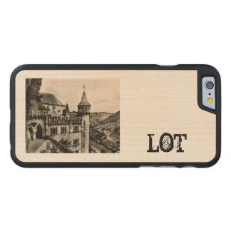 Lot ROC Amadour Religious City France 1950 Carved® Maple iPhone 6 Slim Case