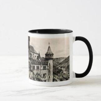 Lot ROC Amadour Religious City France 1950 Mug