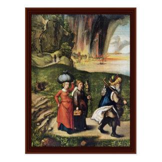 Lot S Escape By Albrecht Dürer Postcards