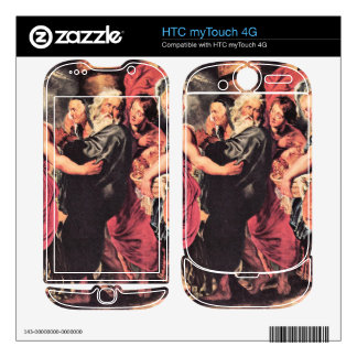 Lot with his family to leave Sodom by Paul Rubens HTC myTouch 4G Skin
