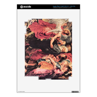Lot with his family to leave Sodom by Paul Rubens Skin For iPad 3