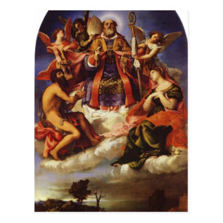 Loteria San Nicolás de Lorenzo en gloria con el St Tarjetas Postales