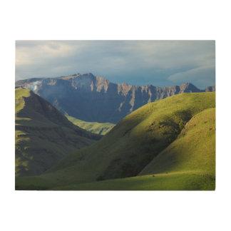Lotheni, Ukhahlamba/parque de Drakensberg Cuadro De Madera