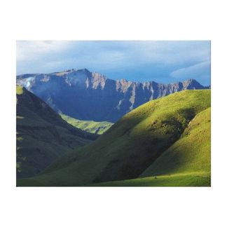 Lotheni, Ukhahlamba/parque de Drakensberg Lona Envuelta Para Galerias