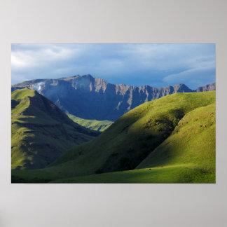 Lotheni, Ukhahlamba/parque de Drakensberg Póster