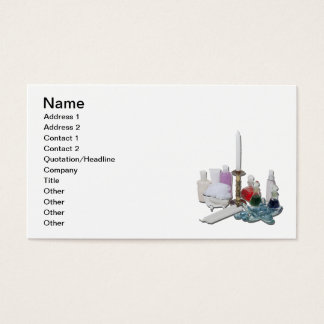 Lotion Potion Candles Relaxation Business Card