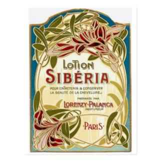 Lotion Siberia Postcard
