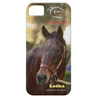 Lotka at Keeneland iPhone 5/5S case