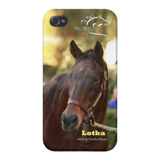 Lotka at Keeneland iPhone 4/4S Covers