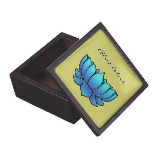 loto azul cajas de regalo de calidad
